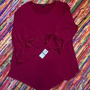 XL Berry Blouse